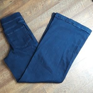 🅿️🅾️Express Super High Waisted Exposed Zip Jeans